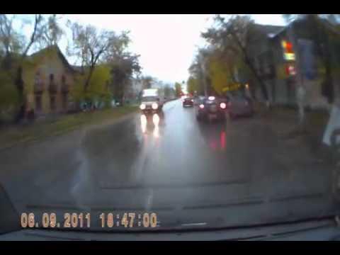 ZA-Auto.ru - Езда на скорой помощи по городу в час-пик