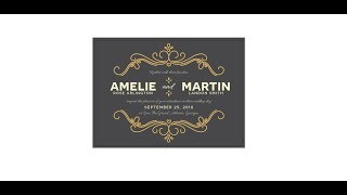 How to Create a Wedding Invitation in Illustrator