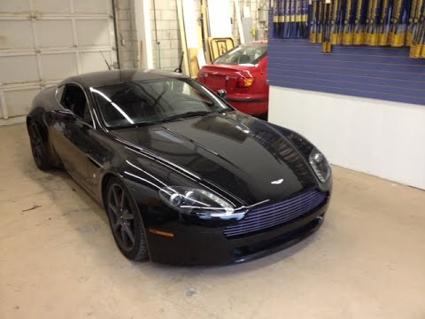 Quick Aston Martin Vantage Audio Upgrade From Lockdown Security - 2007 aston martin v8 vantage