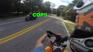DIRT BIKE VS COPS COMPILATION! #3