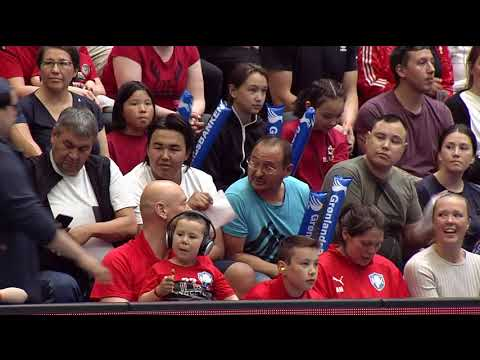 Pan Am 2018: Chile vs Greenland (1:2) KNR 2018-06-24