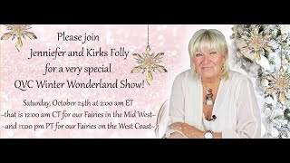 Kirks Folly & QVC SNEAK PEEK: 10/24 2am ET Winter Wonderland Show