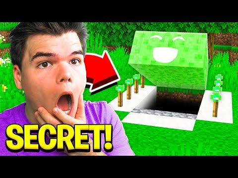 I Found JELLY's Secret Minecraft House!