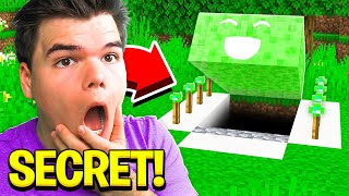 I found JELLY's secret Minecraft House!