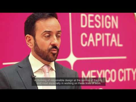 World Design Capital Mexico City 2018 Signing Ceremony
