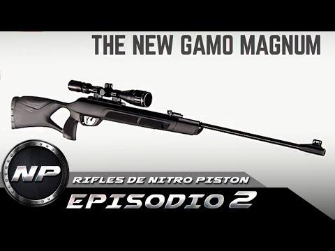 El Rifle De Aire Comprimido (NITRO PISTON) Mas Potente   Ep. 02 Gamo G Magnum