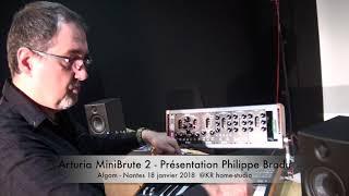 Presentation exclusive Arturia MiniBrute 2