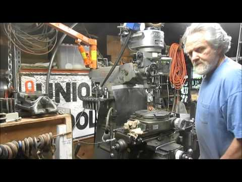 Motorizing a Harbor Freight Rolling Mill #8