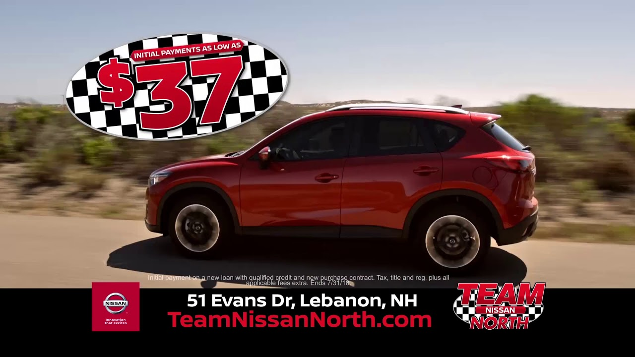 Our $37 Acquisition Sale Is Back! Team Nissan North Of NH