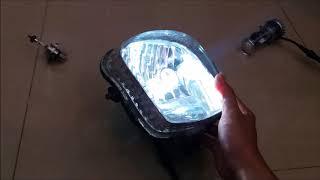 Bóng đèn ô tô -xe máy Bi-LED mini H4 Video