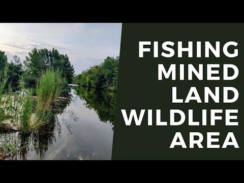 Fishing Mined Land Wildlife Area In SE Kansas
