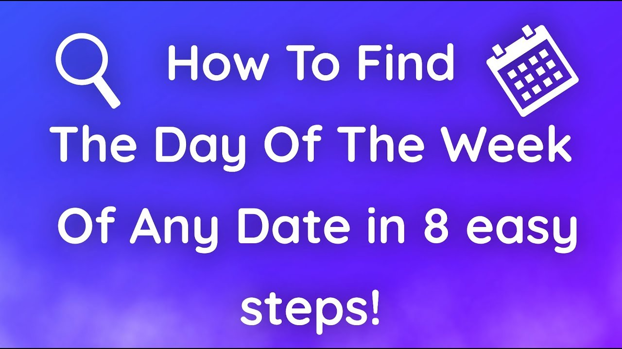 How to find out your date of birth 58