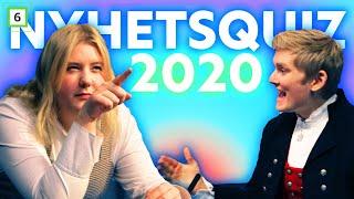 Hvem i 4ETG kan mest om nyheter fra 2020?  Nyhetsquiz med Ole og Bahare.