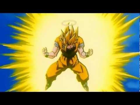 Goku Goes SSJ3 Remastered HD (1080p)