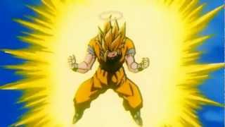 Goku Goes SSJ3 Remastered HD (1080p)