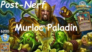Hearthstone: Murloc Paladin Post-Nerf #1: Witchwood (Bosque das Bruxas) - Standard Constructed