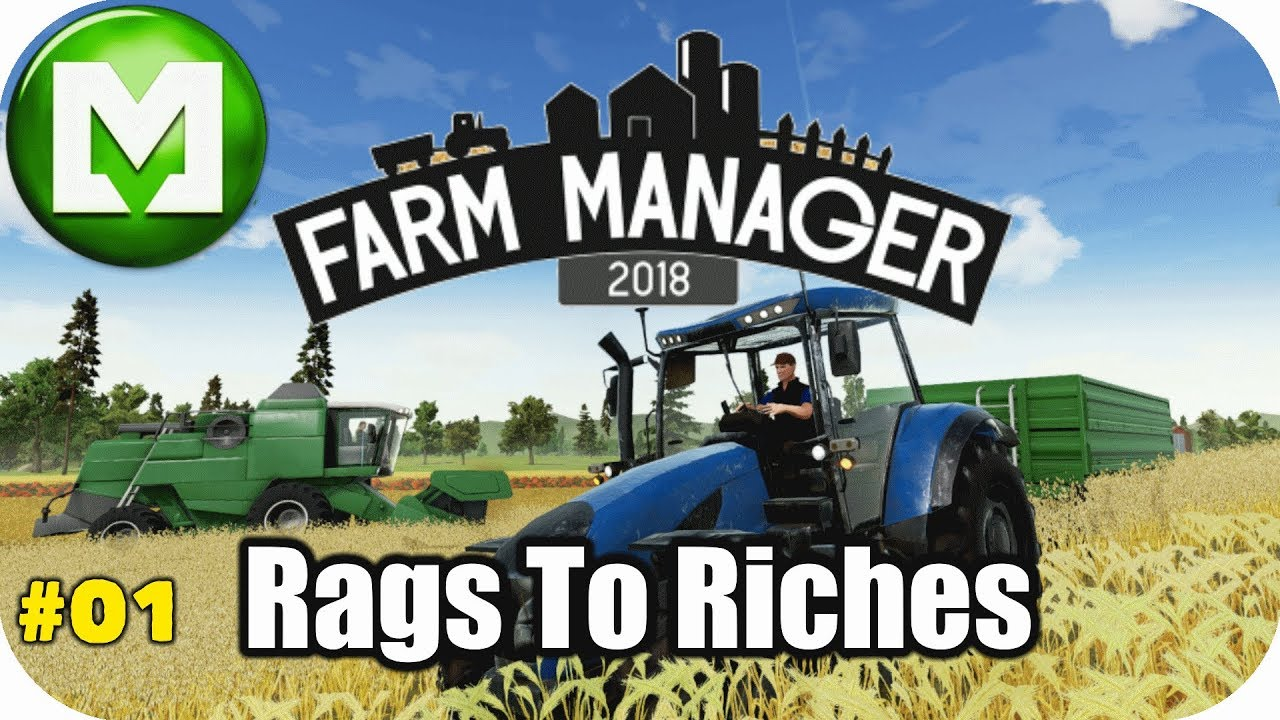 ▶Farm Manager 2018◀ Rags to Riches – EP01