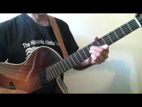 Frank Vignola Guitar Lessons - If I had You Chord Meldoy Slow Tempo ...