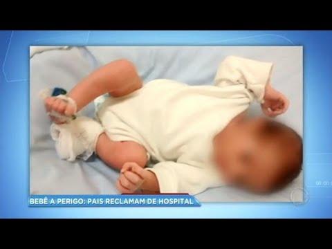 Recém-nascido pode perder pé por negligência médica