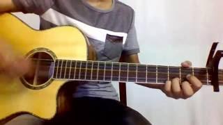 [ Guitar cover ] Anh yêu em nhiều lắm - Tú Đinh Acoustic