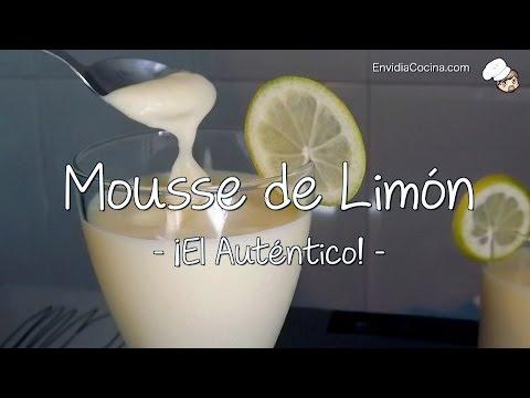 Mousse de Limón, ¡El Auténtico! ( con Crema de limón - Lemon curd )
