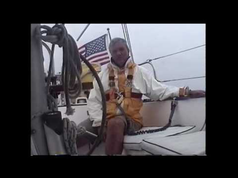 Sailing from Bermuda to the Chesapeake in 2001