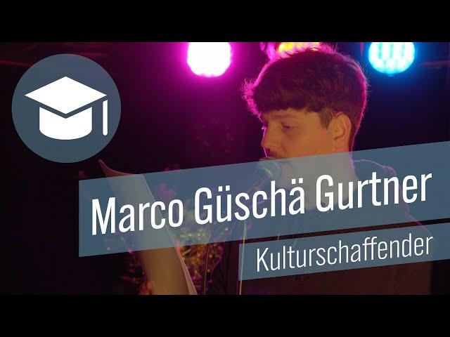 Marco Güschä Gurtner - Kulturschaffender