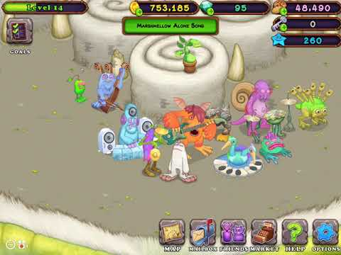 DD: My Singing Monsters Marshmallow Alone Song Tutorial My Singing Monsters