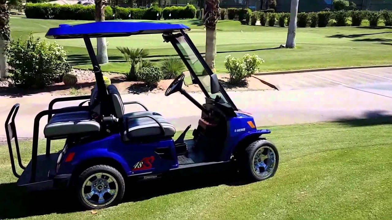 08 tomberlin e merge golf cart video review 360 look at the vehicle [ 1280 x 720 Pixel ]