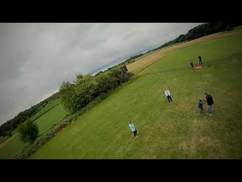 Фото Family playing on the field #fpv #drone