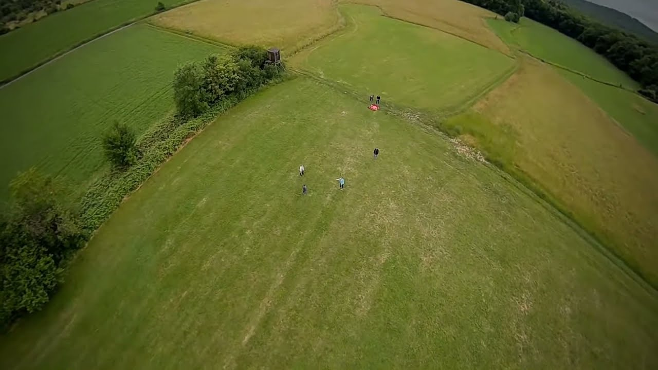 Family playing on the field #fpv #drone фотки