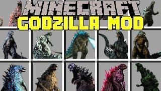 Minecraft GODZILLA MOD / SURVIVE AGAINST GIANT GODZILLA ARMY! / Modded Mini-Game