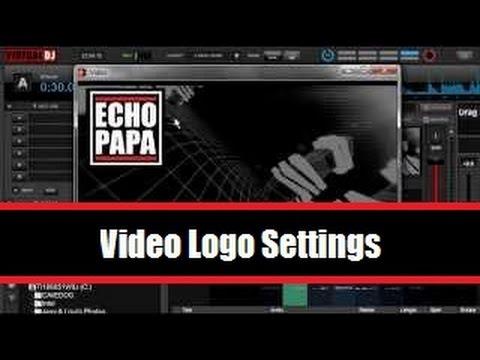 virtual dj logo entfernen