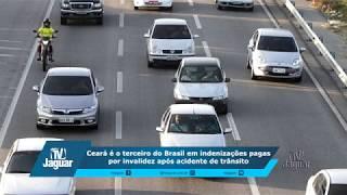 Ceará é o terceiro do Brasil em indenizações pagas por invalidez após acidente de trânsito