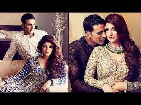 Akshay Kumar With Wife Twinkle Khanna, Very Romantic ...