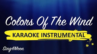 """""""Colors Of The Wind"""" """"Pocahontas"""" piano karaoke (backing track) instrumental"""