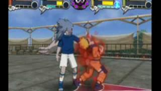 Naruto: Gekitou Ninja Taisen 4 gameplay