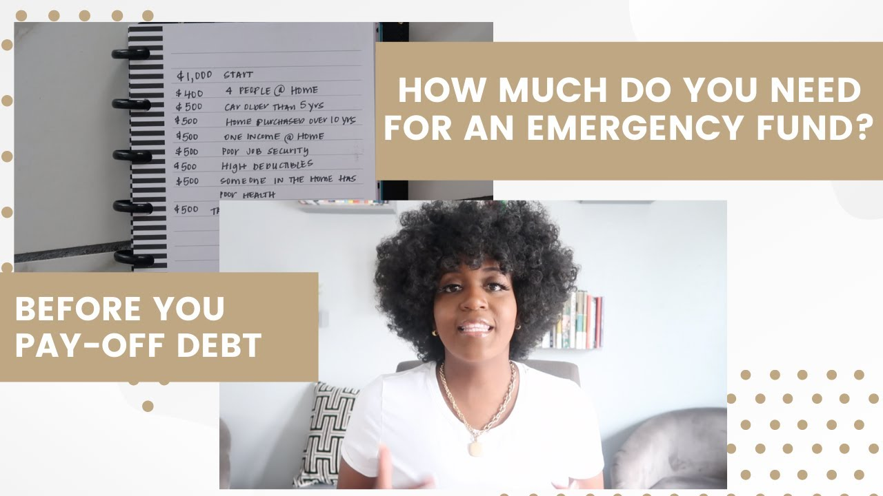 How Much Do You Need In Your Emergency Fund