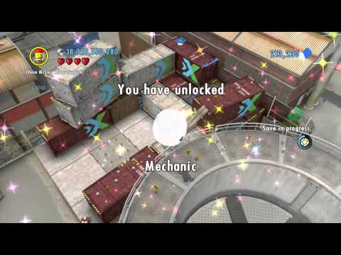 LEGO City Undercover (Wii U) ~ Collectables Guide - Auburn (Part 4/5)