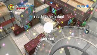 LEGO City Undercover (Wii U) - Auburn: Part 4 of 5 (Collectibles Guide)