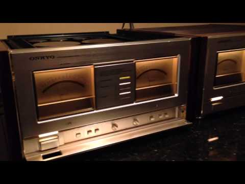 Two Onkyo M-510 in action