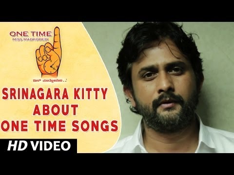 One Time Kannada Movie || Srinagara Kitty Wishing One Time Movie team || Tejus, Neha Saxena