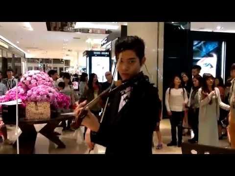 【田馥甄 - 小幸運】《我的少女時代》電影主題曲簡伯廷 街頭藝人 小提琴演奏 Violin Co