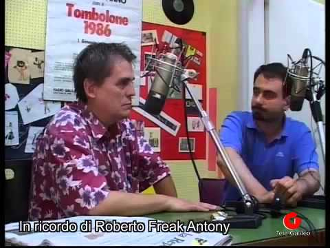 Freak Antony intervista a Radio Galileo e Tele Galileo