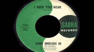 John English III and the Heathens - I Need You Near
