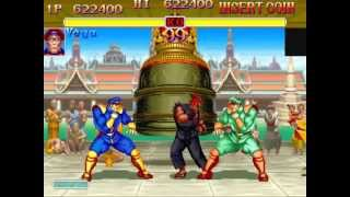 Super Street Fighter II Turbo (Arcade) Playthrough as M. Bison