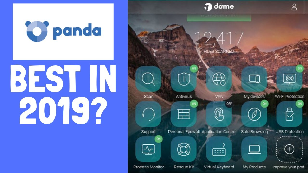 Panda Dome Premium 2019 - BEST Antivirus 2019 or NOT? Panda Security Panda Antivirus