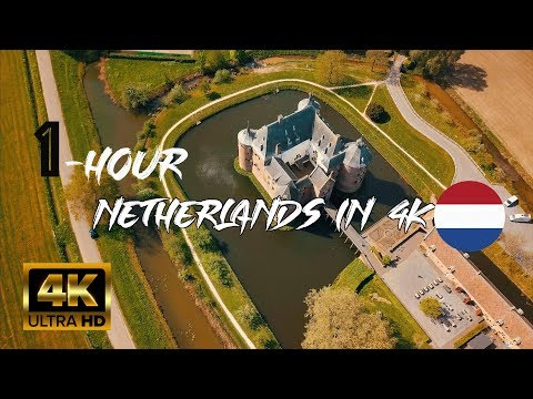 1-Hour The Netherlands in 4K by Drone - NTG Drone Media