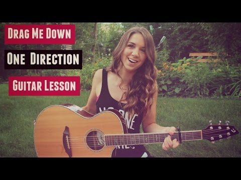 Drag Me Down - One Direction Guitar Lesson (Tutorial)