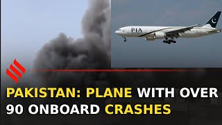 Pakistan: Pia Flight With Over 100 On-board Crashes In Karachi